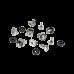 Крепежный комплект «винт — шайба — гайка» (10 шт)