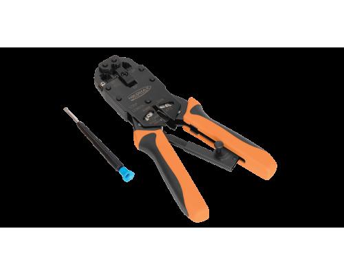 Инструмент NIKOMAX обжимной профессиональный, 3 гнезда (NMC-2008AR)