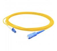 Патч-корд LC(UPC)-SC(UPC) simplex 1м