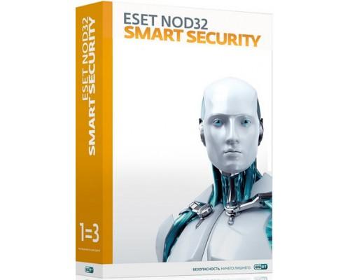 Антивирус ESET NOD32 Smart Security на 3 ПК 1 год (продление), электронная лицензия