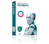 Антивирус ESET NOD32 Antivirus на 3 ПК 1 год (продление), электронная лицензия